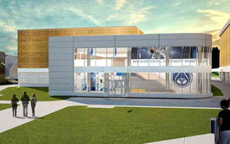 Marriott Center Annex rendering