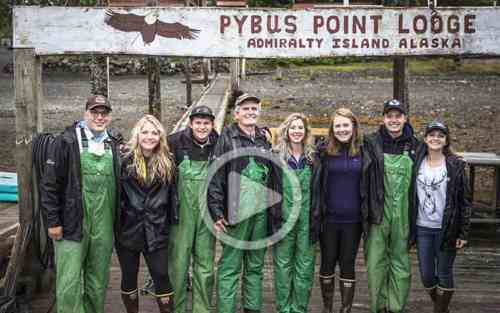 BYU students in Alaska