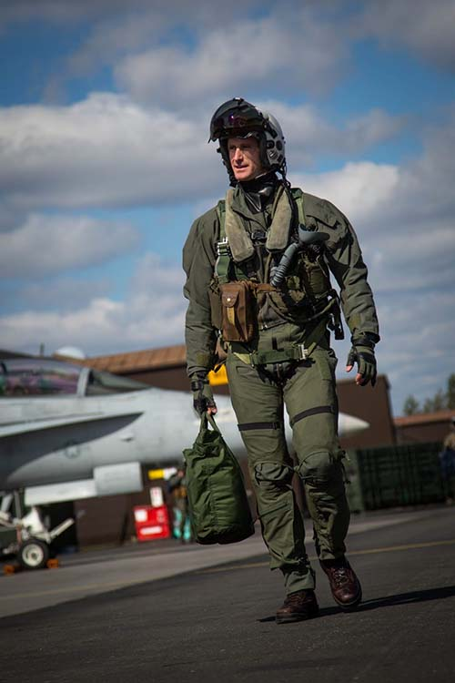 U.S. Marine Major and fighter pilot Christopher Melling is now a student at BYU Law School.