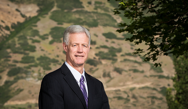 Brigham Young University President Kevin J Worthen