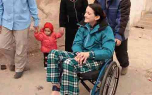 Nadia wheelchair
