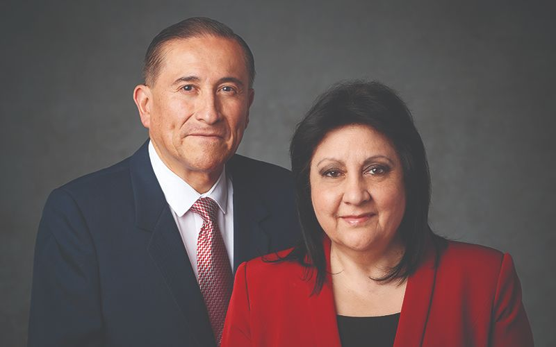 Photo of Elder Juan A. Uceda and his wife, Maria.