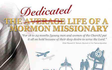 LDS Missionary Infographic